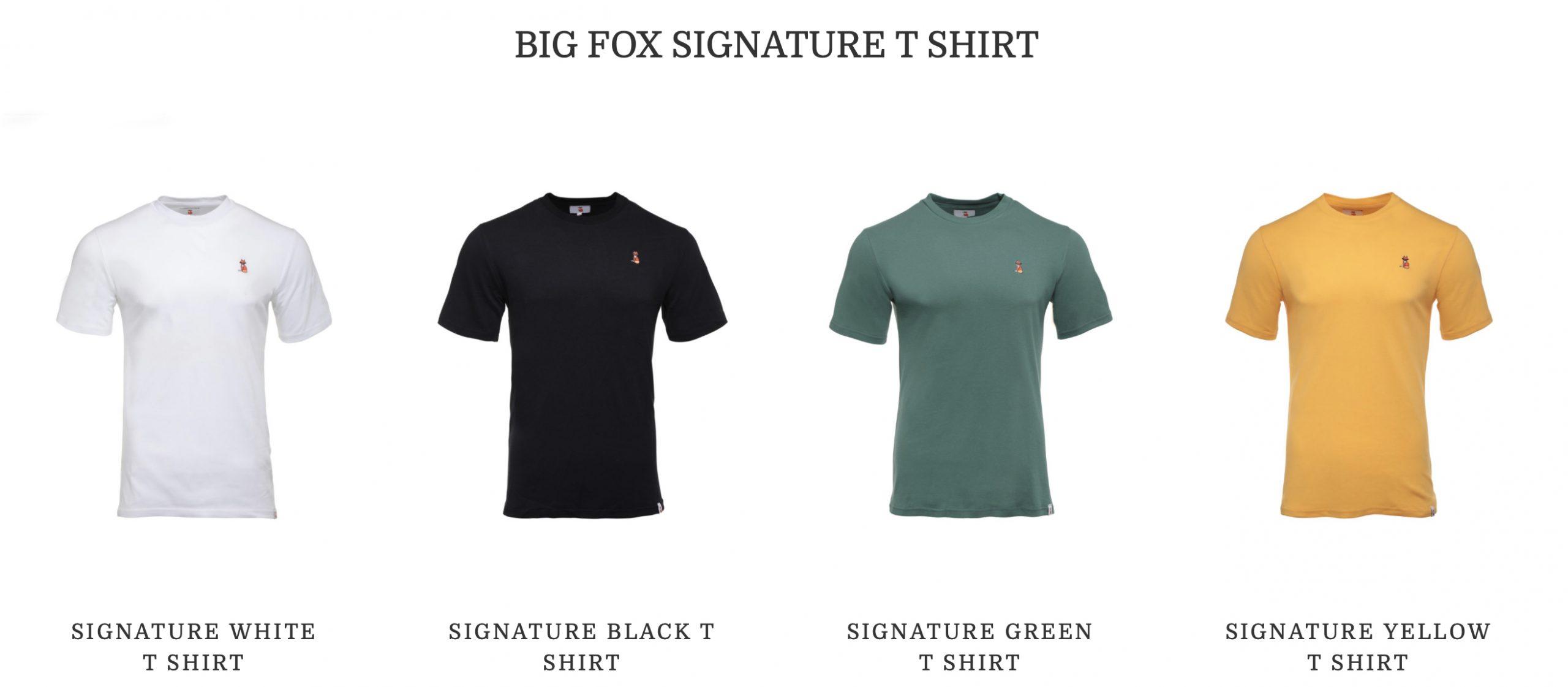 Big Fox Apparel T-Shirts